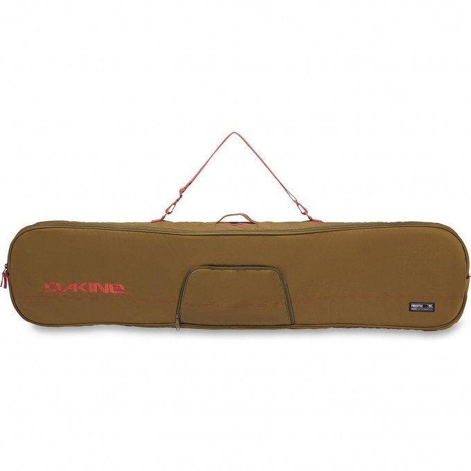 Чехол для сноуборда DAKINE FREESTYLE SNOWBOARD BAG 165 DARK OLIVE/DARK ROSE 10001460