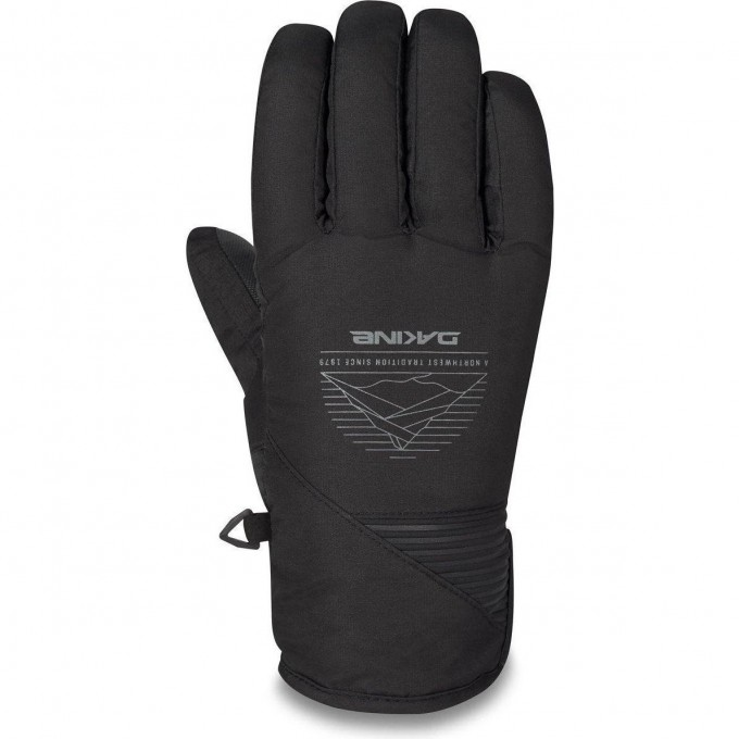 Перчатки DAKINE CROSSFIRE GLOVE BLACK FOUNDATION Размер L 10003137