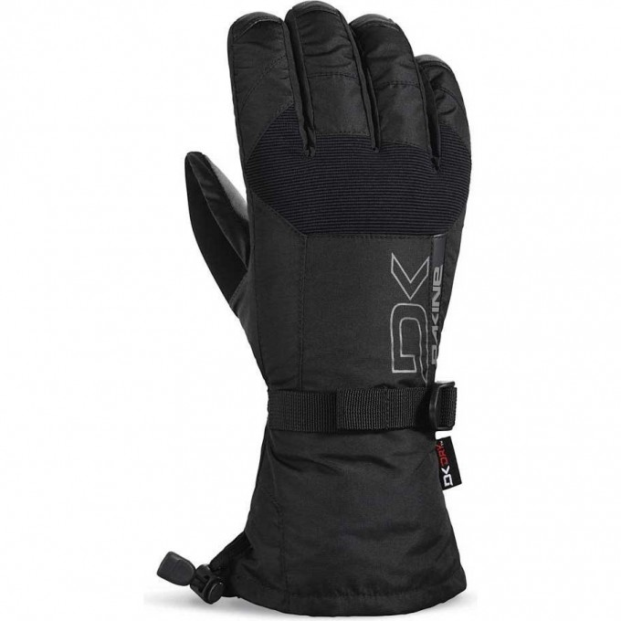 Перчатки DAKINE LEATHER SCOUT GLOVE BLACK Размер S 10003151