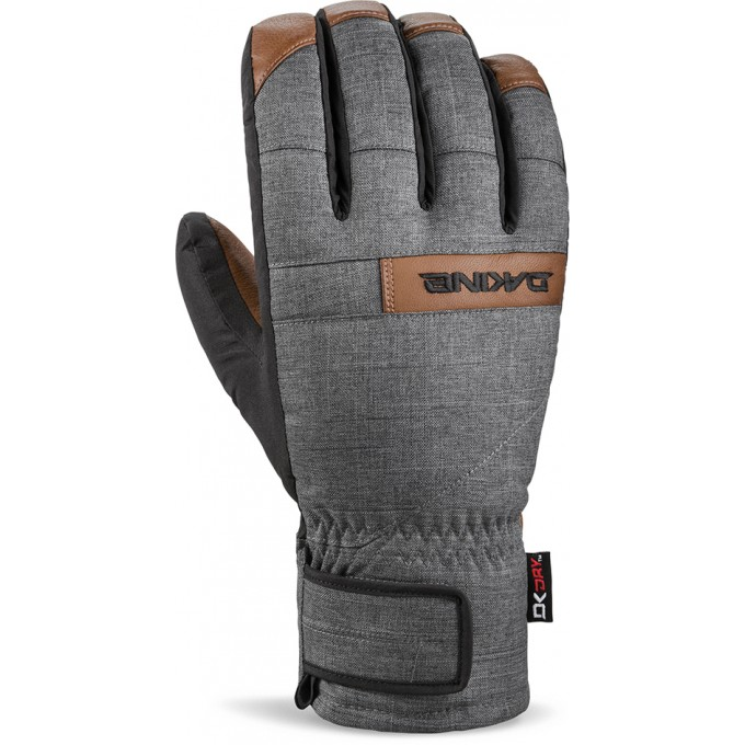 Перчатки DAKINE NOVA SHORT GLOVE CARBON Размер XL 10003163 10003163 (0610934365030)