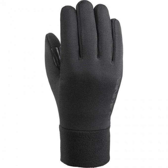 Перчатки трикотажные DAKINE STORM LINER BLACK Размер S 10000697