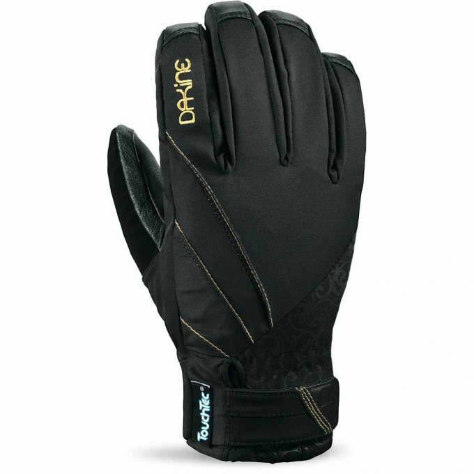 Перчатки женские DAKINE TEMPEST GLOVE BLACK Размер M 1100123 1100123 (0610934712360)