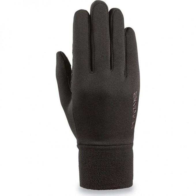 Перчатки женские трикотажные DAKINE WOMEN'S STORM BLACK Размер XS 10000728