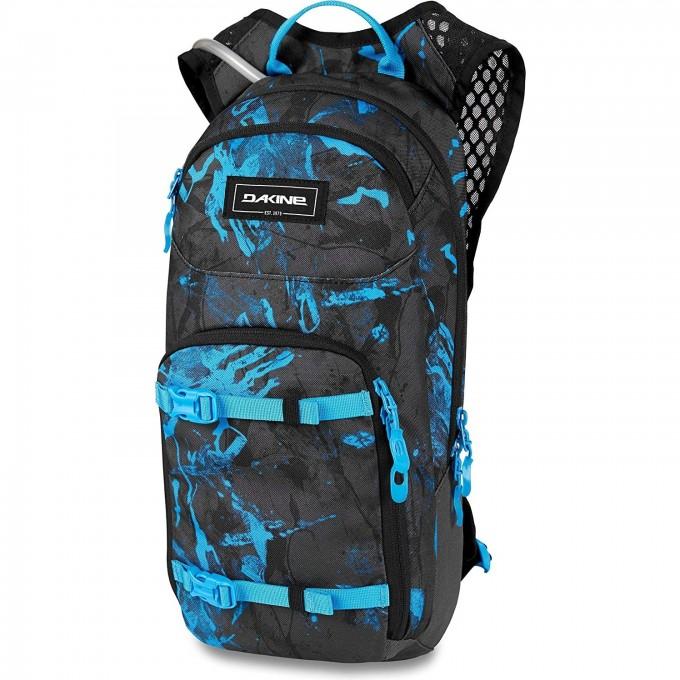 Рюкзак для вело с резервуаром DAKINE SESSION 8L CYAN SCRIBBLE 10000478